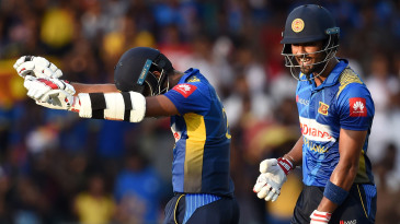 Kusal Mendis acknowledges reaching a 30-ball half-century