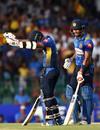 Kusal Mendis acknowledges reaching a 30-ball half-century, Sri Lanka v England, 5th ODI, October 23, 2018