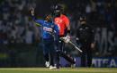 Akila Dananjaya removed Moeen Ali to break a fifth-wicket stand, Sri Lanka v England, 5th ODI, October 23, 2018