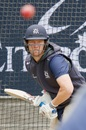Cameron White bats in the nets, Sheffield Shield 2018-19, Melbourne, October 24, 2018