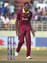 Obed McCoy could have had Virat Kohli as his first international wicket, India v West Indies, 2nd ODI, Visakhapatnam, October 24, 2018