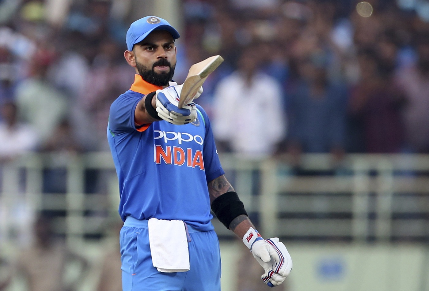 Watch: Virat Kohli Caught Out In Stunning Manner... By A BALL BOY