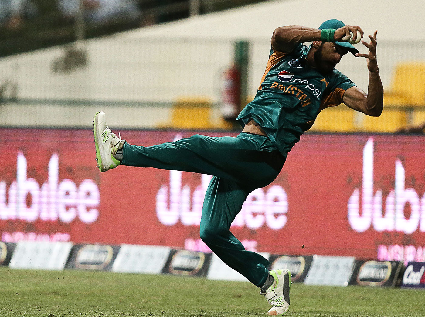 Sharp fielding plays a big role in successfully defending a total in T20s