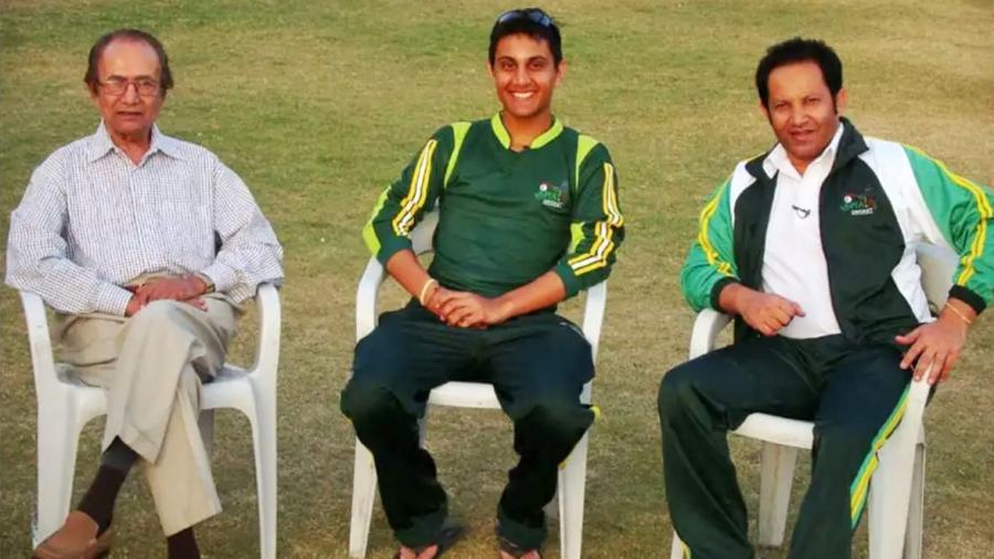 Hanif Mohammad, Shehzar Mohammad and Shoaib Mohammad
