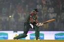 Soumya Sarkar lets out a loud call, Bangladesh v Zimbabwe, 3rd ODI, Chittagong, October 26, 2018