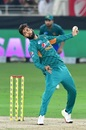Imad Wasim conceded just eight runs in his four overs, Pakistan v Australia, 2nd T20I, Dubai, October 26, 2018