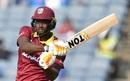 Jason Holder pulls, India v West Indies, 3rd ODI, Pune, October 27, 2018