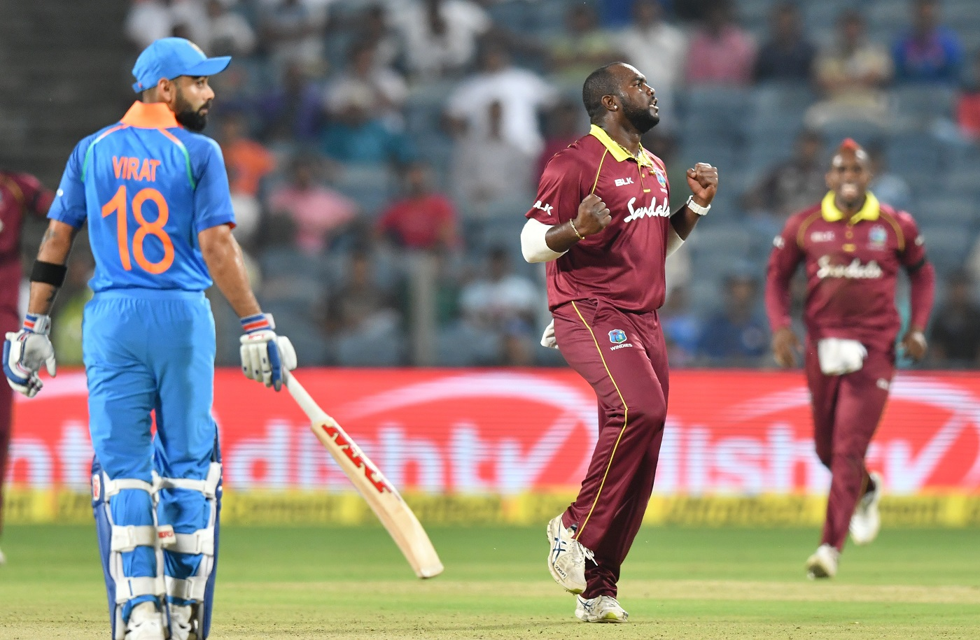 India vs Windies 2018, Third ODI - Twitter Reacts As Virat Kohli's Ton Goes In Vain