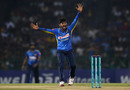 Kamindu Mendis failed to claim a wicket with either arm on debut, Sri Lanka v England, only T20I, October 27, 2018