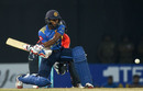 Kamindu Mendis showed some impressive shot-making in 24 from 14 balls, Sri Lanka v England, only T20I, October 27, 2018