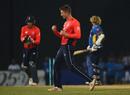 Joe Denly finished up with a four-wicket haul, Sri Lanka v England, only T20I, October 27, 2018