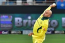 Nathan Lyon bowled a tight spell, Pakistan v Australia, 3rd T20I, Dubai, October 28, 2018