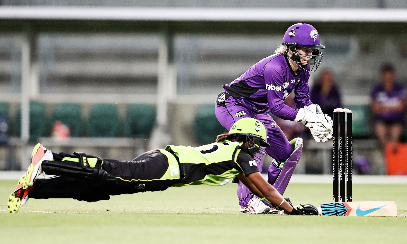 Before Harmanpreet Kaur's World Cup pyrotechnics, she produced impressive runs in the WBBL