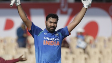 Rohit Sharma stroked his way to a fine century