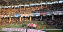 A packed house at the Sylhet International Cricket Stadium witnesses the action, Sylhet, October 31, 2018
