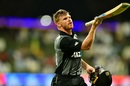 Glenn Phillips rues his dismissal, Pakistan v New Zealand, 1st T20I, Abu Dhabi, October 31, 2018