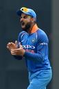 Virat Kohli yells, India v West Indies, 5th ODI, Thiruvananthapuram, November 1, 2018