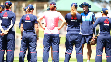 Coach Mark Robinson thinks England's improvement in T20Is can only be judged by how they do in this World T20 because there aren't enough international performances to go by