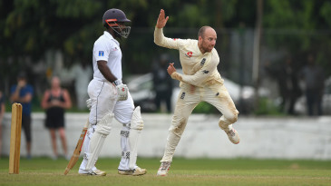 Jack Leach finally got the chance to press his case