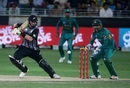 Colin Munro carves the ball through point, Pakistan v New Zealand, 2nd T20I, Dubai, November 2, 2018