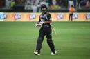 Colin de Grandhomme walks back after holing out, Pakistan v New Zealand, 2nd T20I, Dubai, November 2, 2018