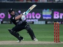 Tim Seifert goes for the scoop shot, Pakistan v New Zealand, 2nd T20I, Dubai, November 2, 2018