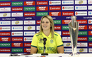 Dane van Niekerk speaks at the arrival press conference, Women's World T20, Antigua, November 2, 2018