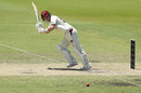 Jimmy Peirson clips the ball away, Queensland v Western Australia, Sheffield Shield 2018-19, Brisbane, 2nd day, November 4, 2018