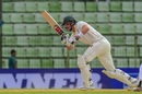 Peter Moor plays through the on side, Bangladesh v Zimbabwe, 1st Test, Sylhet, 2nd day, November 4, 2018