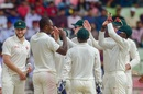 Tendai Chatara sunk Bangladesh with a three-wicket burst, Bangladesh v Zimbabwe, 1st Test, Sylhet, 2nd day, November 4, 2018