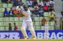 Imrul Kayes was bowled off an inside edge, Bangladesh v Zimbabwe, 1st Test, Sylhet, 2nd day, November 4, 2018