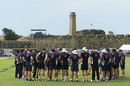 Fort for the day: England train in front of Galle's UNESCO World Heritage Site, Galle, November 4, 2018