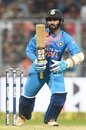Dinesh Karthik played with a cool head to guide India's chase, India v West Indies, 1st T20I, Kolkata, November 4, 2018