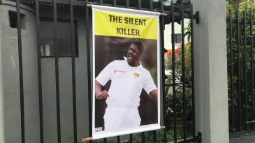 A tribute to Rangana Herath before his final Test
