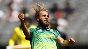 Imran Tahir bagged his 150th wicket in his 89th ODI
