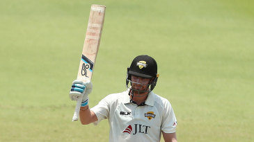 Will Bosisto made a career-best 167 not out