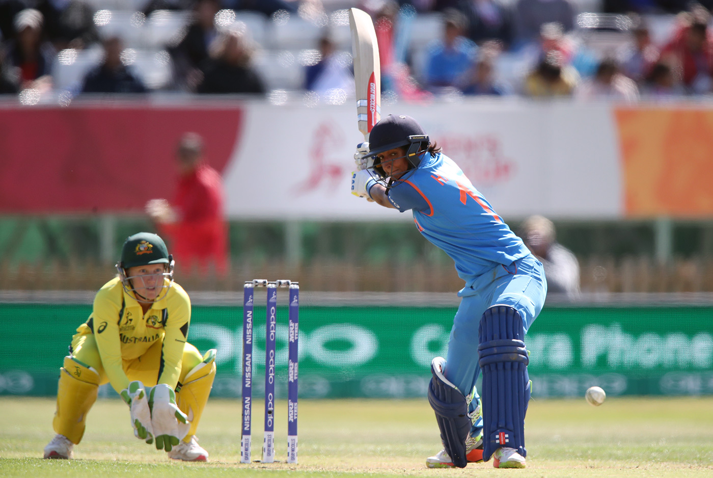 Harmanpreet lines up to send one into orbit during her 171 not out