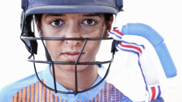 Close-up of Harmanpreet Kaur