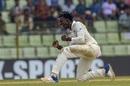 Brandon Mavuta exults after taking a wicket, Bangladesh v Zimbabwe, 1st Test, Sylhet, 4th day, November 6, 2018