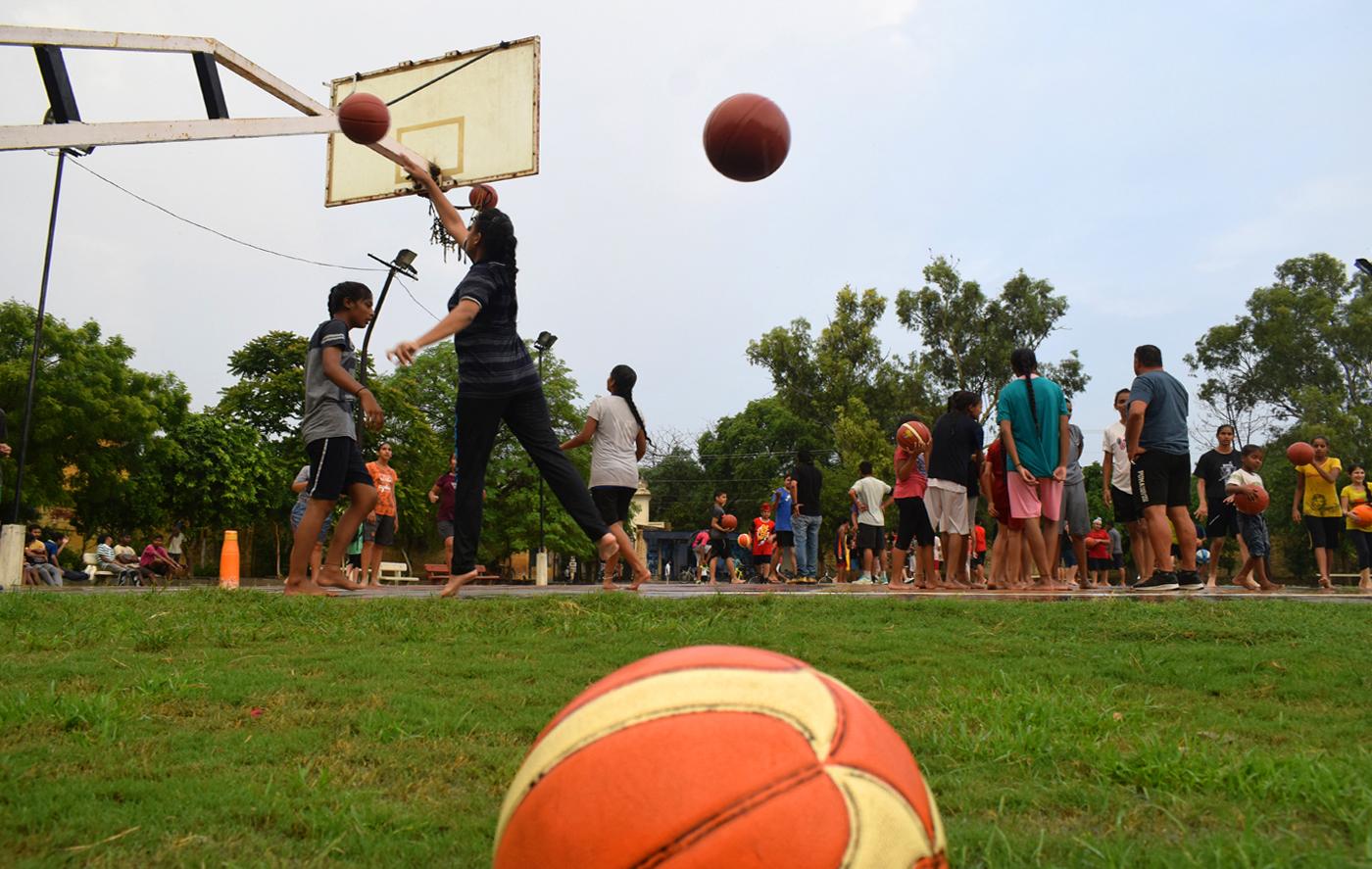 The Harman effect: girls train at Moga's Guru Nanak Dev College Ground, where a teenage Harmanpreet first played cricket with boys