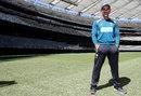 Justin Langer had a stand named after him at Perth Stadium, Perth, November 3, 2018