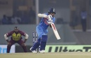 Shikhar Dhawan punches off the back foot, India v West Indies, 2nd T20I, Lucknow, November 6, 2018