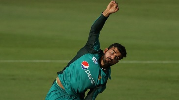 Shadab Khan took three wickets in four balls