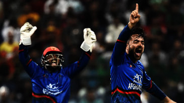 Rashid Khan: excellent strike rate, economy and wickets-per-match figures