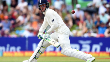 The reverse-sweep was a productive outlet for Keaton Jennings