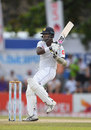Angelo Mathews pulls, Sri Lanka v England, 1st Test, 4th day, Galle, November 9, 2018