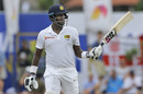 Angelo Mathews made back-to-back fifties, Sri Lanka v England, 1st Test, 4th day, Galle, November 9, 2018