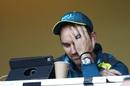 Justin Langer in a pensive mood, Australia v South Africa, 2nd ODI, Adelaide, November 9, 2018