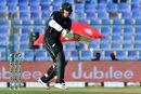 George Worker tucks one into the leg side, Pakistan v New Zealand, 2nd ODI, Abu Dhabi, November 9, 2018