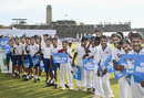 School children show their appreciation for Rangana Herath, Sri Lanka v England, 1st Test, 4th day, Galle, November 9, 2018